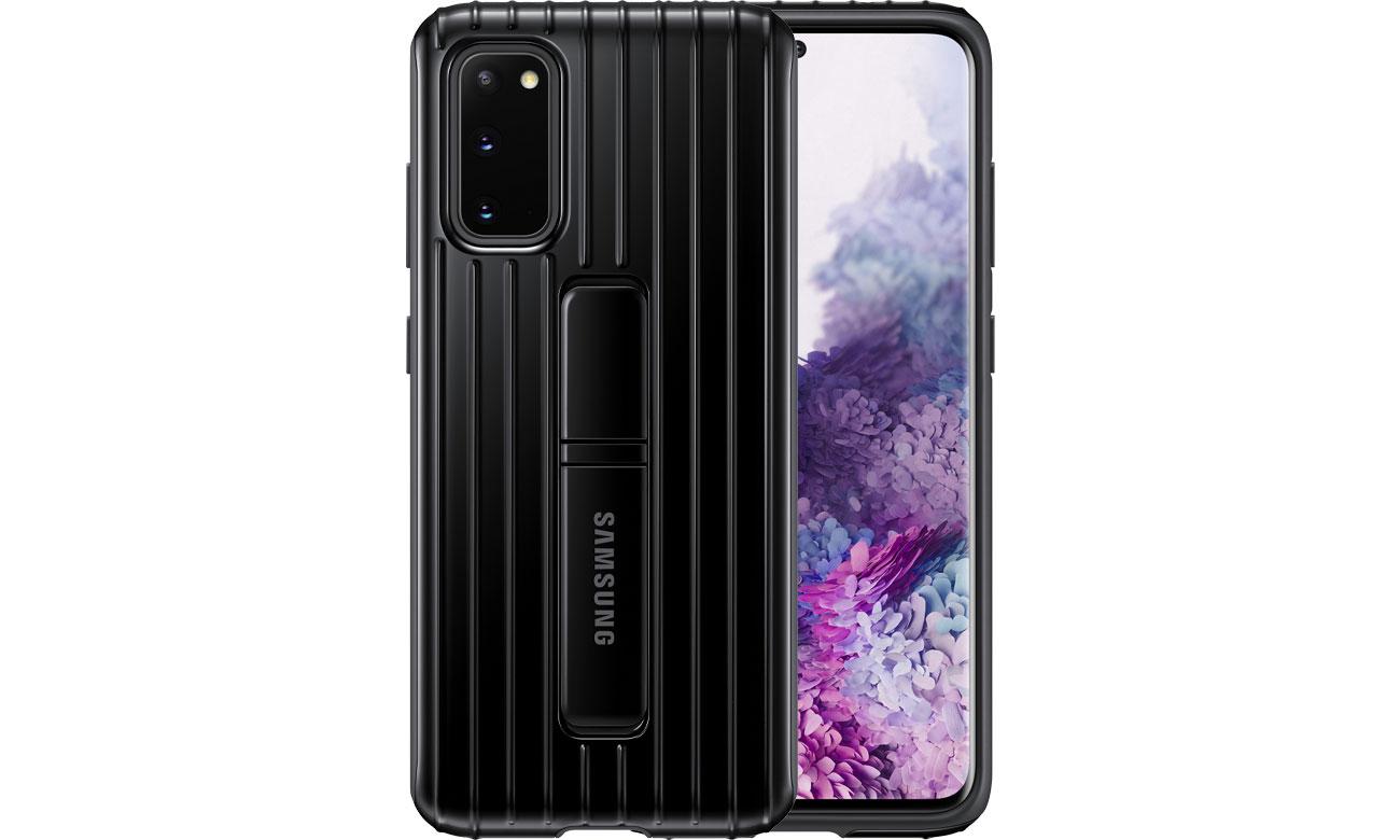 Samsung Protective Standing Cover do Galaxy S20 Black EF-RG980CBEGEU