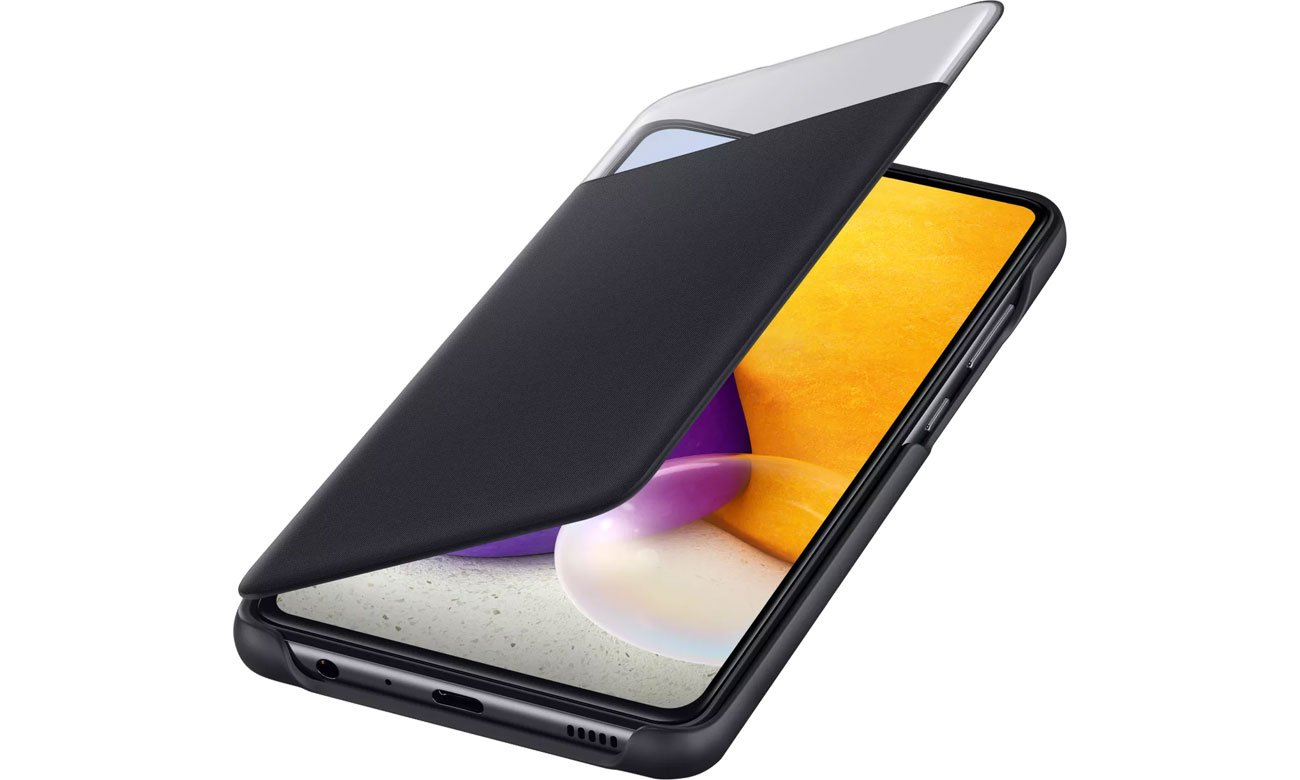 S View Wallet Cover do Galaxy A72