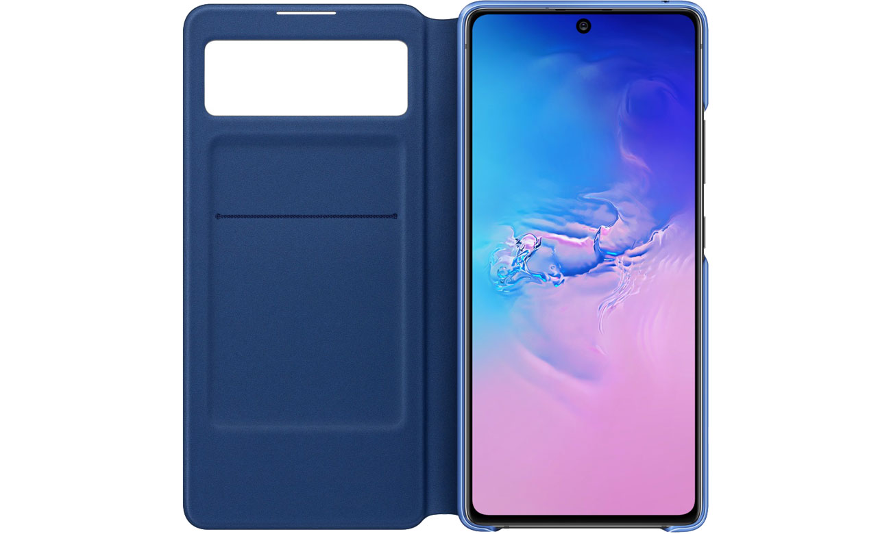 S View Wallet Cover do Galaxy S10 Lite