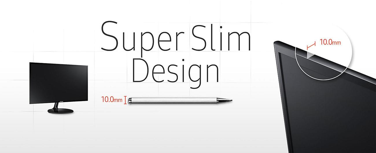 Samsung S24F350FHUX smukły design