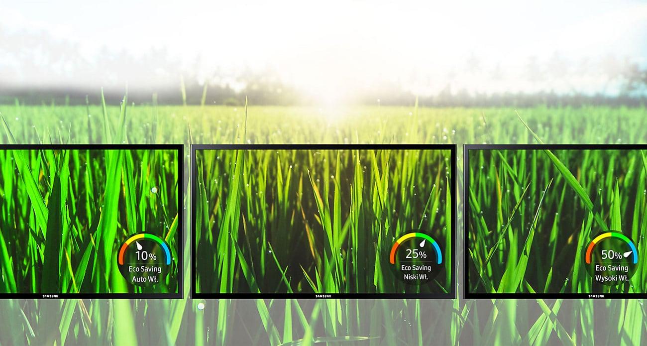 Samsung S24F350FHUX oszczędność energii