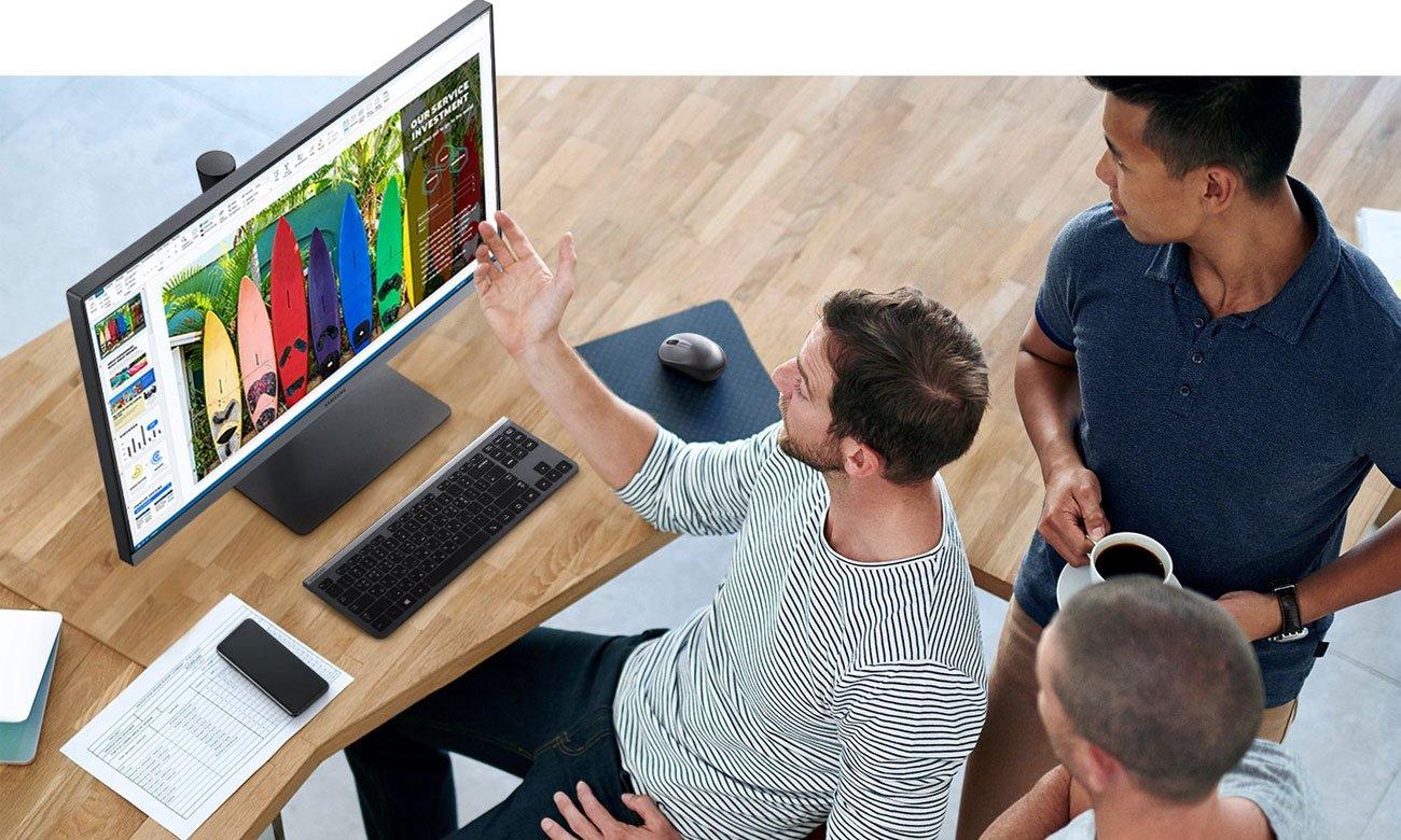 Monitor do zastosowań biznesowych Samsung S24R650FDUX