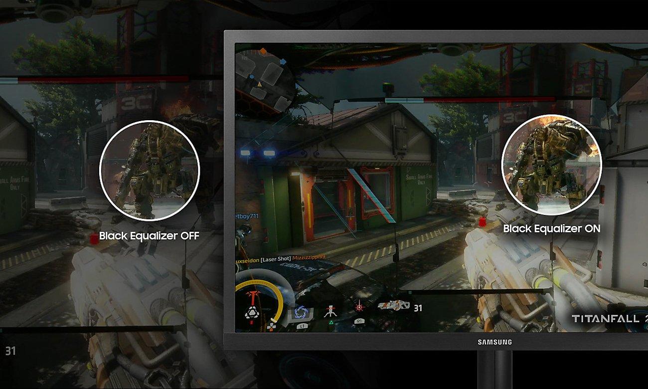 Samsung S25HG50FQUX Black Equalizer