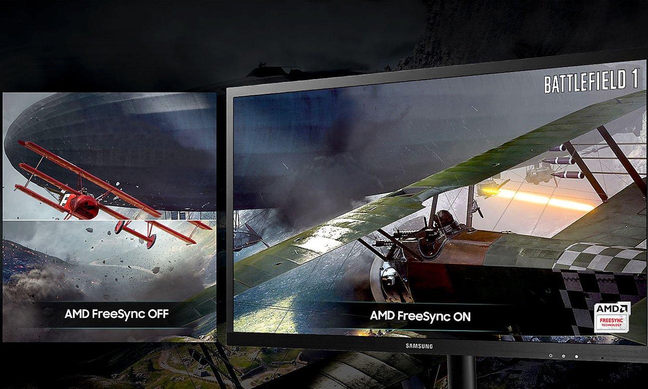 Samsung S25HG50FQUX Technologia AMD FreeSync