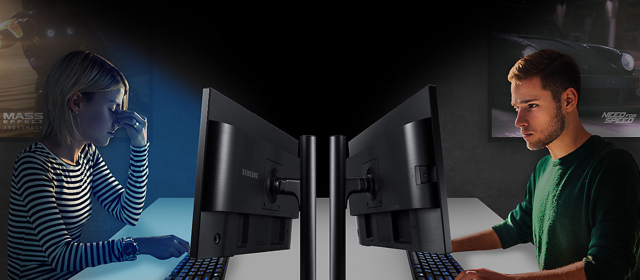 Samsung S25HG50FQUX Redukcja Światła