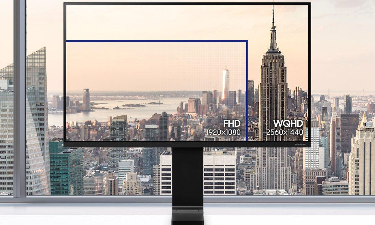 Monitor Samsung S27R750QEUX Rozdzielczość WQHD