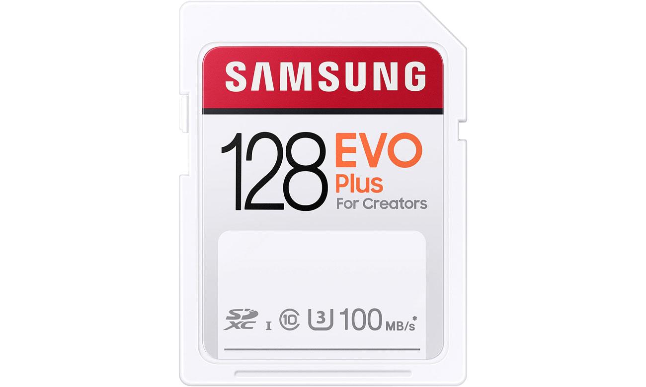 Karta pamięci SD Samsung 128GB SDXC EVO Plus 100MB/s MB-SC128H/EU
