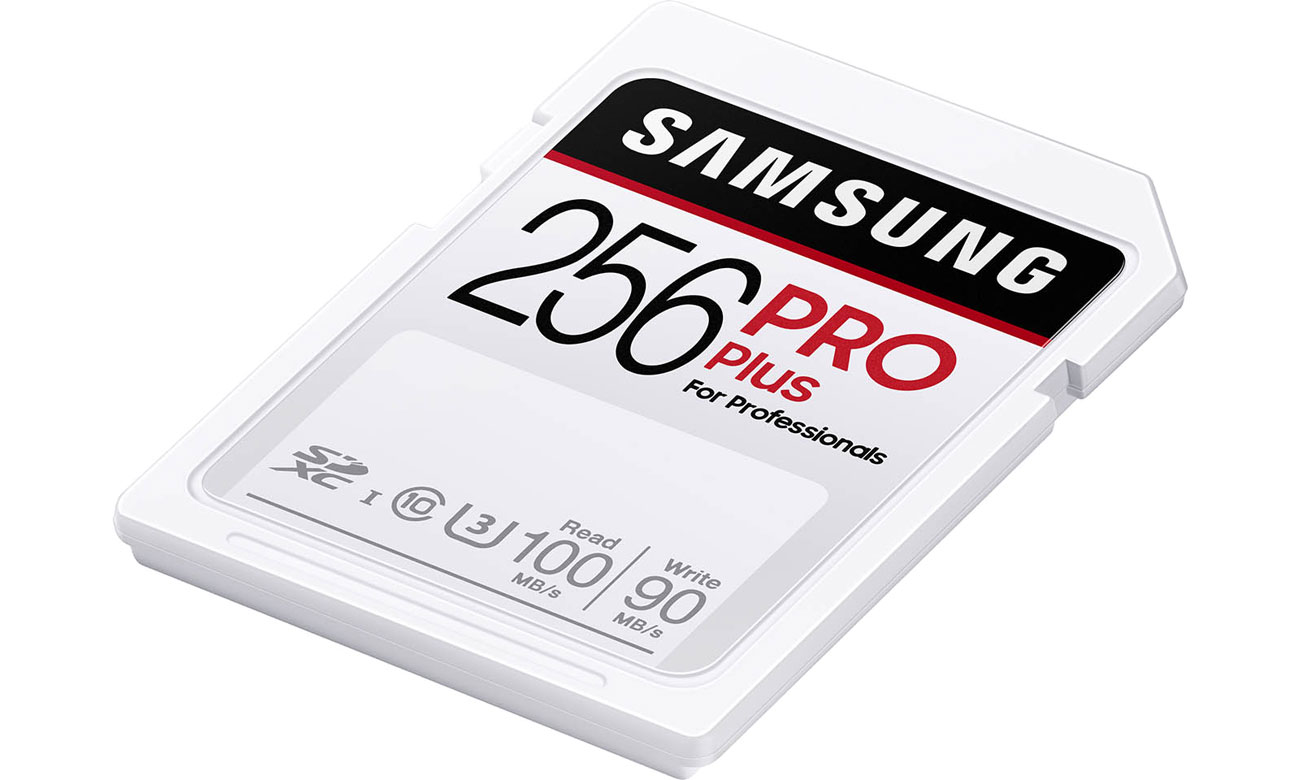 Karta pamięci SD Samsung 256GB SDXC PRO Plus 100MB/s MB-SD256H/EU