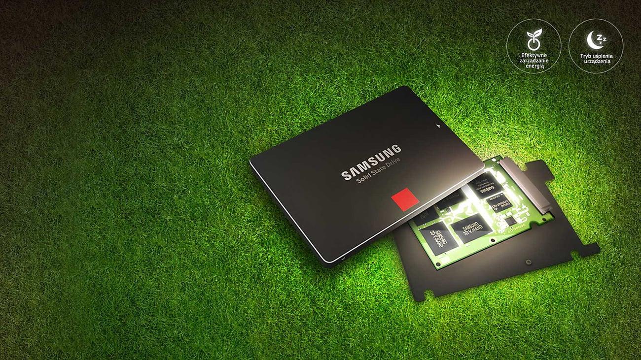 Samsung SSD Seria 850 Pro - oszczędność