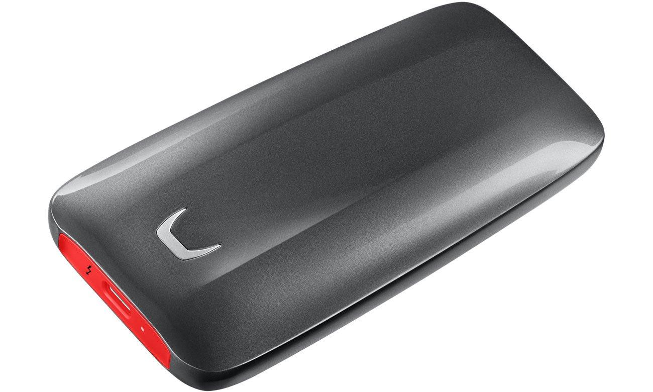 Dysk przenośny Samsung 2TB Portable SSD X5 Thunderbolt 3 MU-PB2T0B/EU