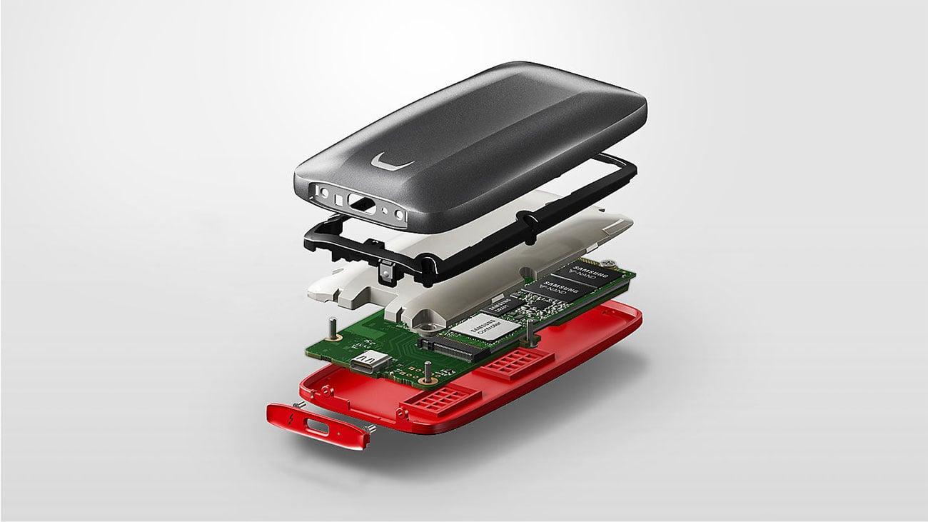 Samsung Portable SSD X5 Budowa
