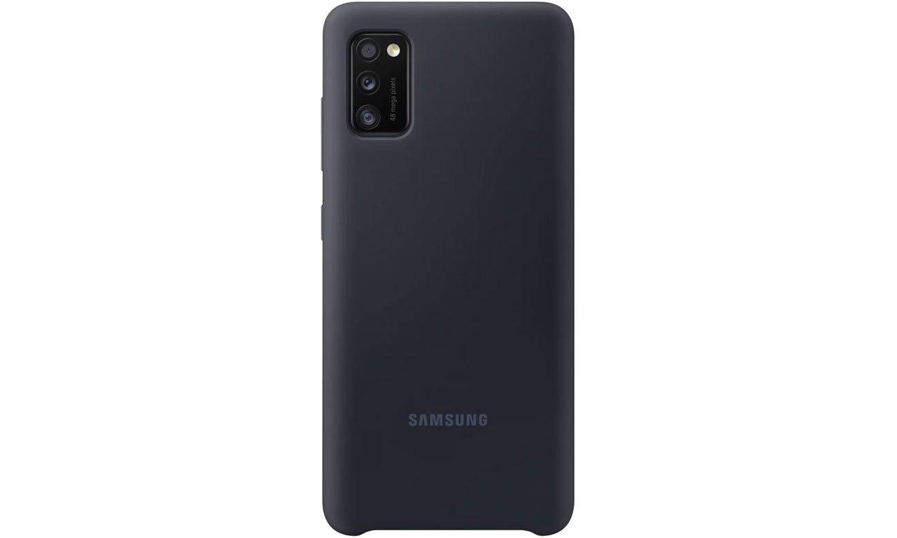 Samsung Silicone Cover do Galaxy A41 czarny EF-PA415TBEGEU