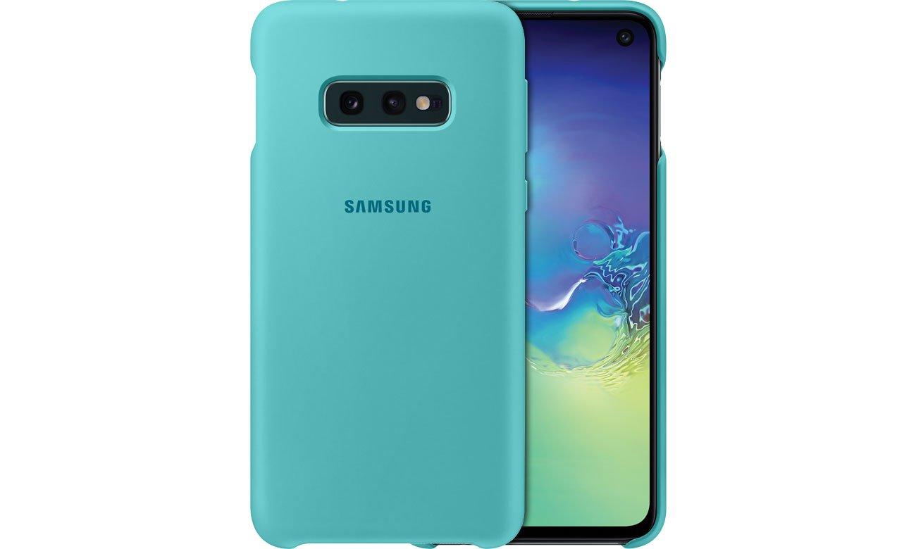 Etui Samsung Silicone Cover do Galaxy S10e zielone