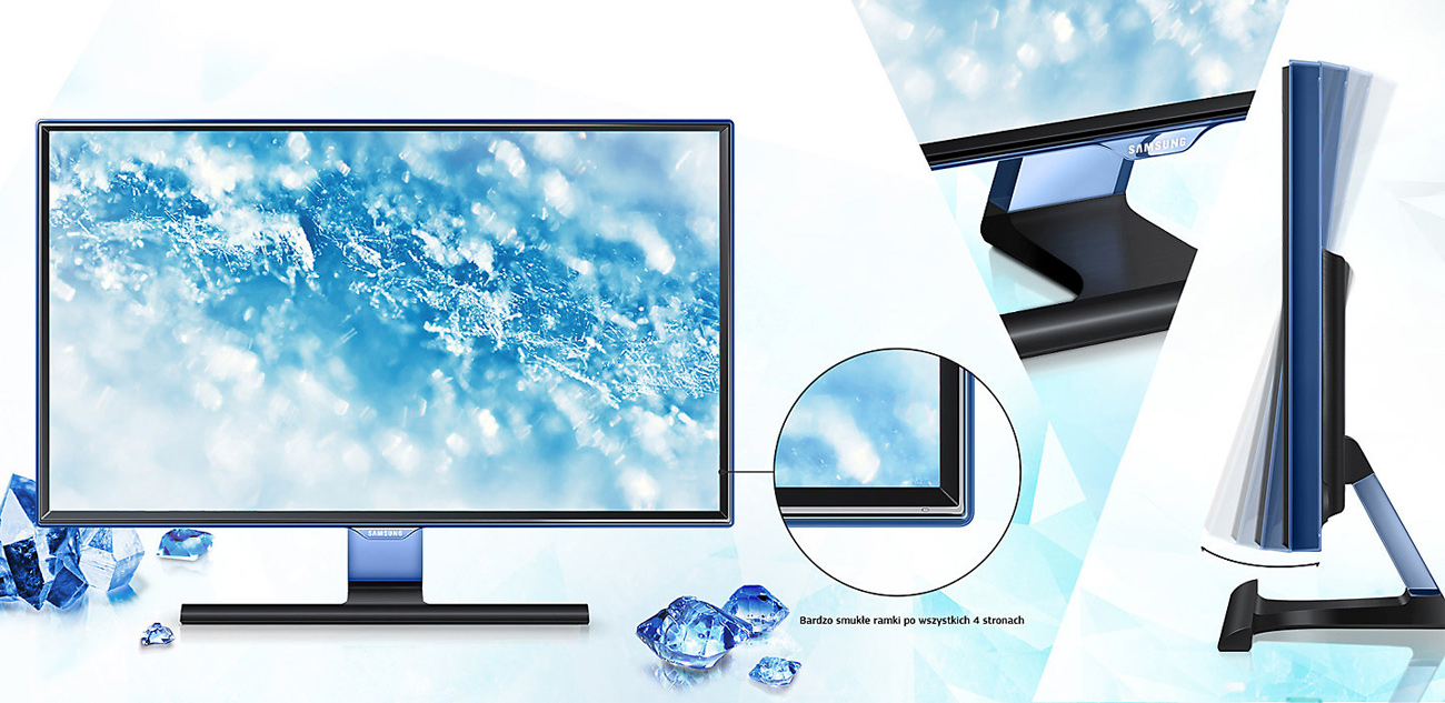 Samsung T22E390EW TV Touch of Color