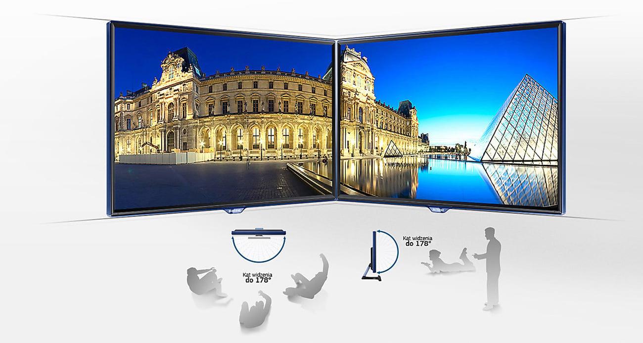 Samsung T22E390EW TV Doskonała jakość obrazu
