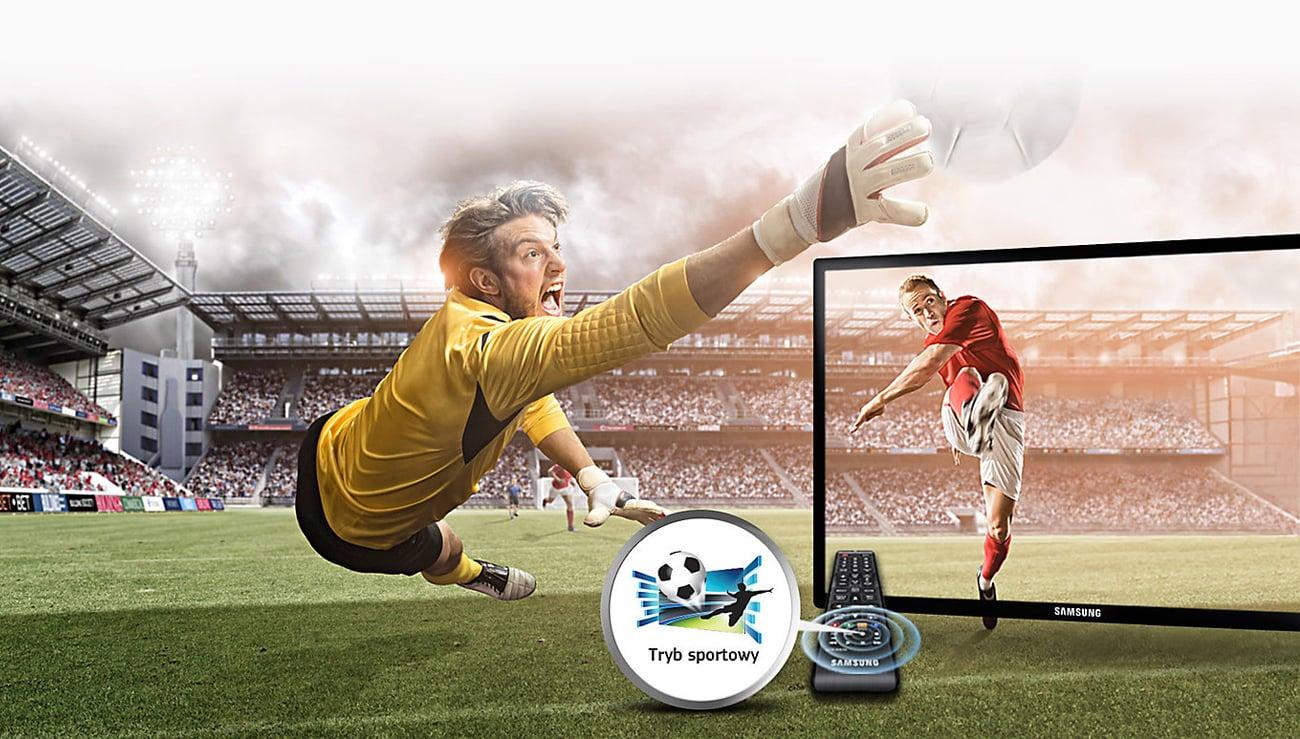 Samsung T22E390EW TV tryb sportu
