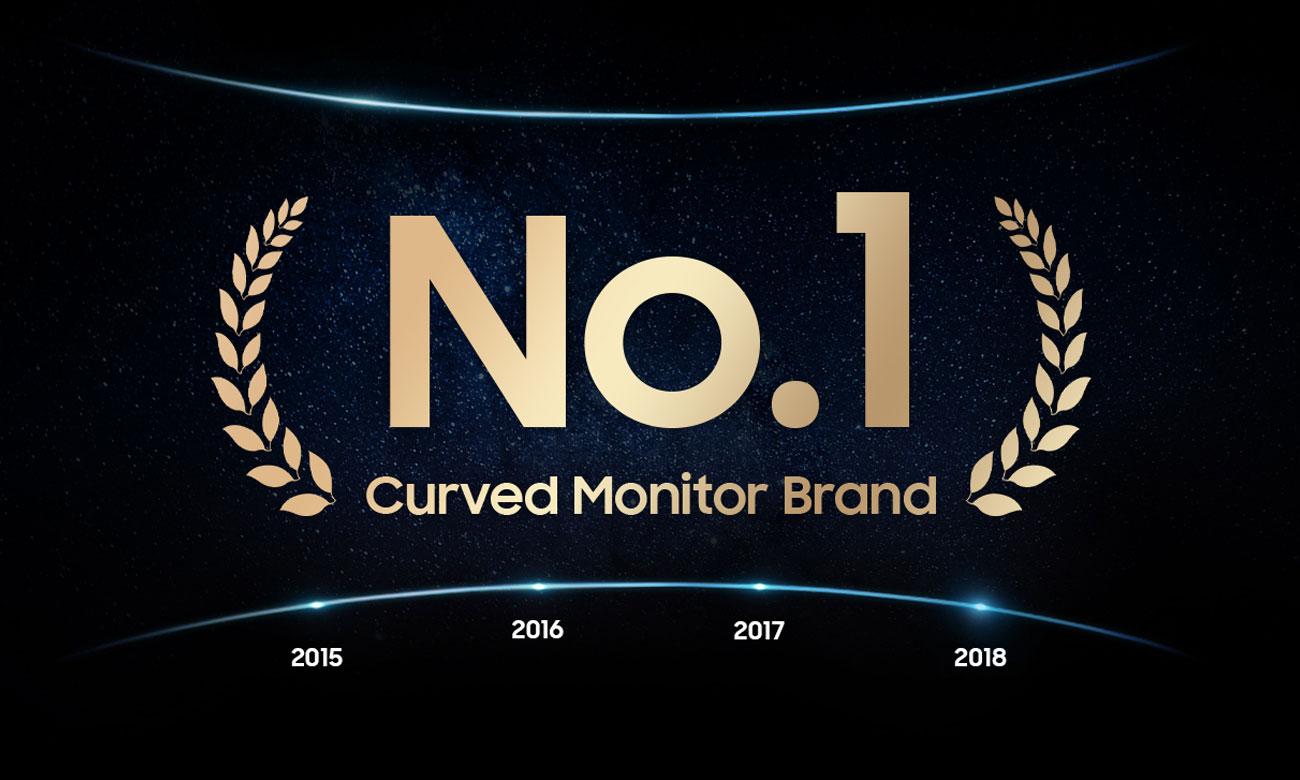 Monitor Samsung U32R590CWUX Curved Numer 1