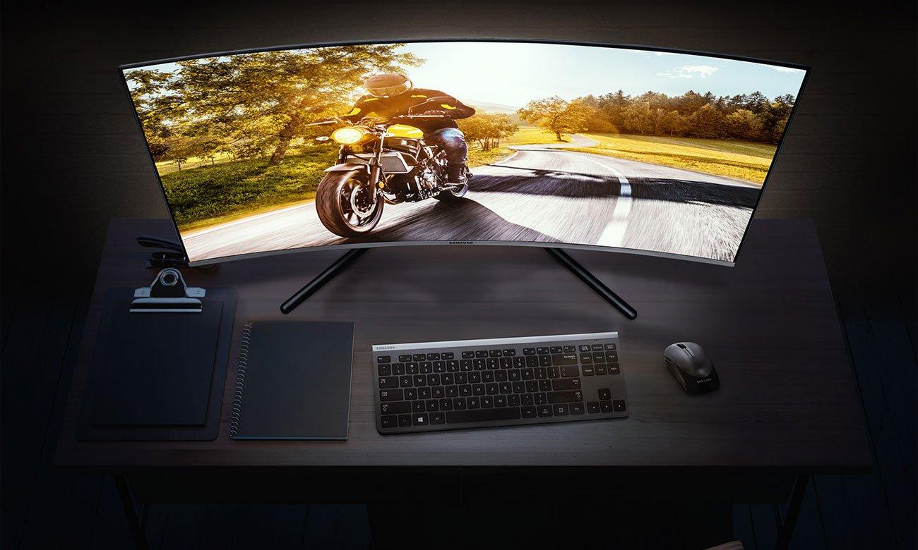 Monitor Samsung U32R590CWUX Curved