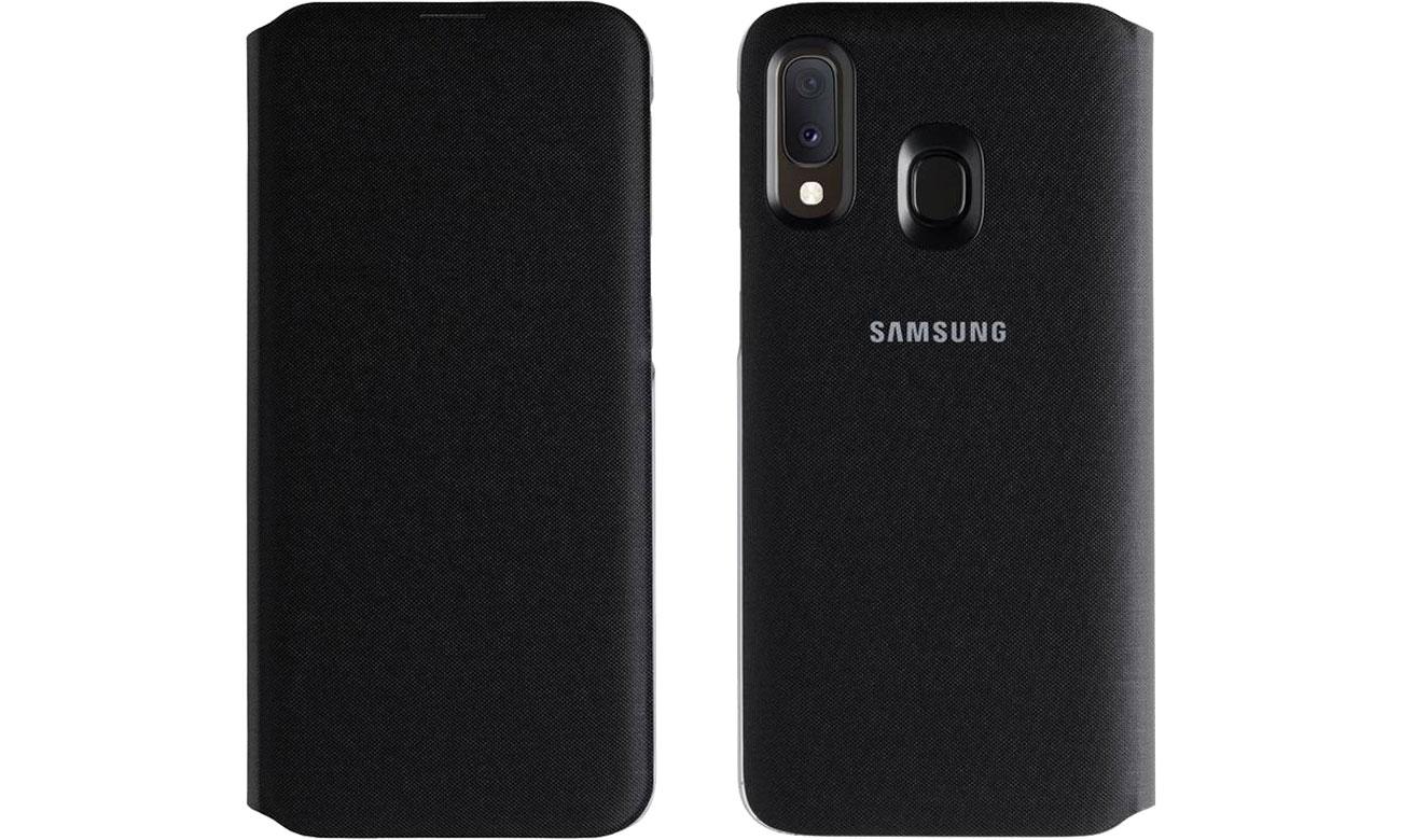 Samsung Wallet Cover do Galaxy A20e Przód i tył