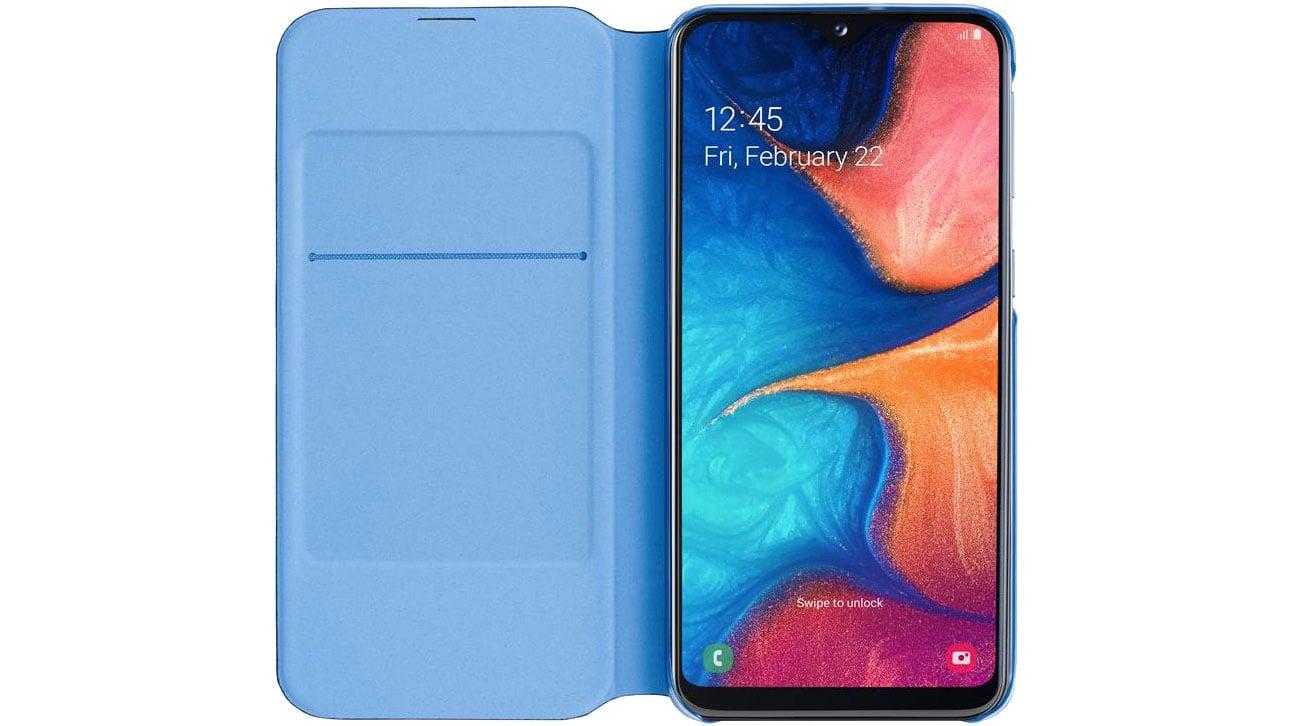 Samsung Wallet Cover do Galaxy A20e Kieszonka na karty