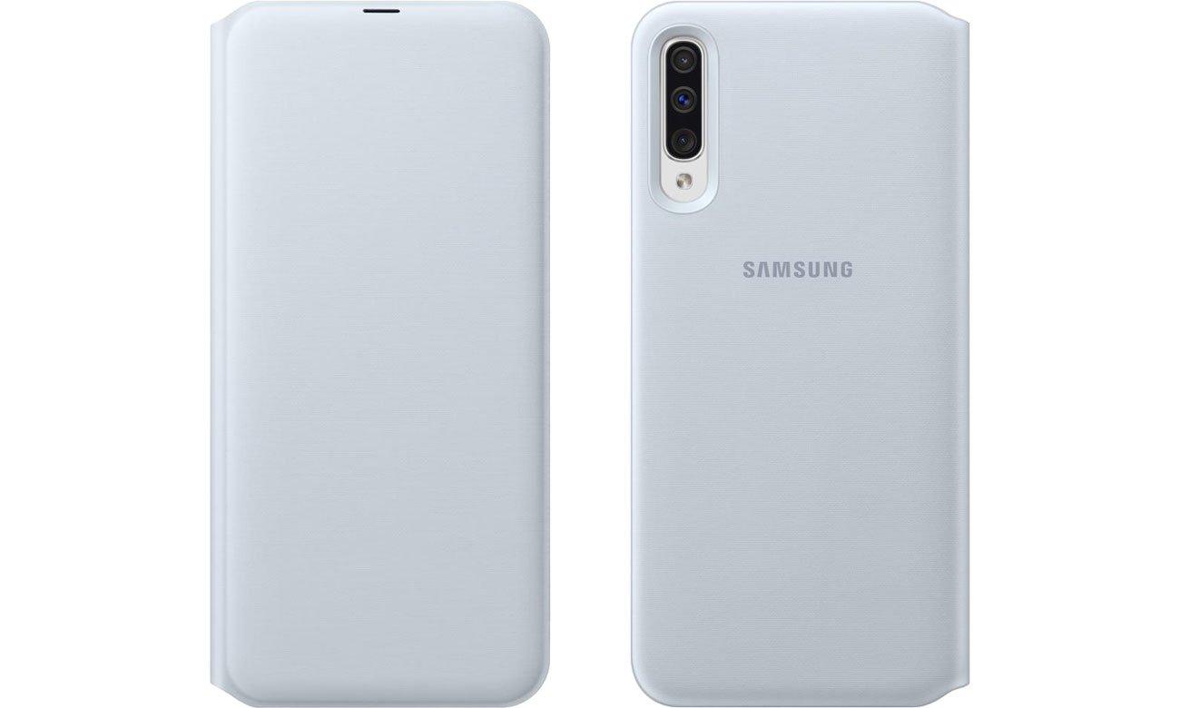 Samsung Wallet Cover do Galaxy A50 Przód i tył