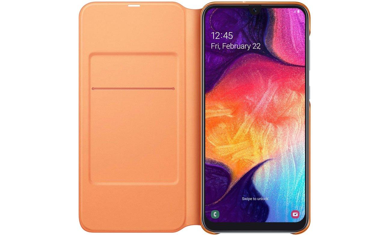 Samsung Wallet Cover do Galaxy A50 Kieszonka na karty
