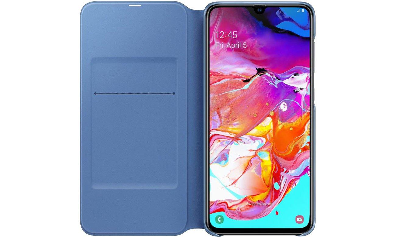 Samsung Wallet Cover do Galaxy A70 Kieszonka na karty