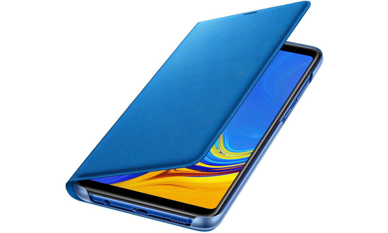 Etui Samsung Wallet Cover do Galaxy A9 złote EF-WA920PLEGWW