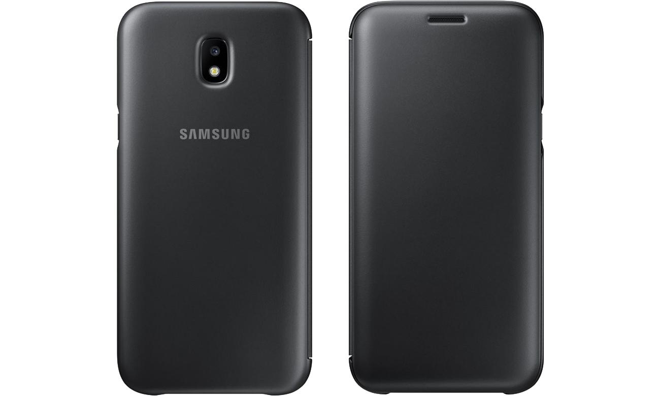 samsung wallet cover do galaxy j5 2017 black etui i obudowy na smartfony sklep komputerowy. Black Bedroom Furniture Sets. Home Design Ideas