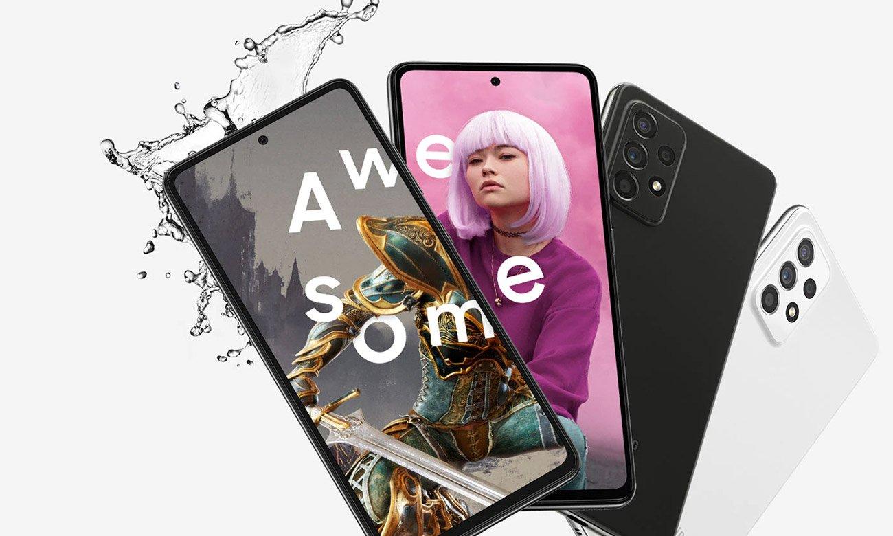 Smartfon Samsung Galaxy A52s 5G 128 GB czarny