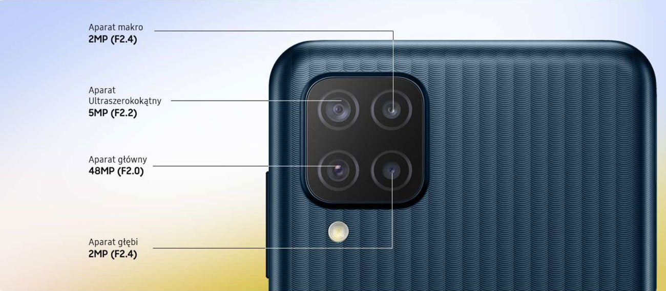 Aparat Samsung Galaxy M12 64GB Black