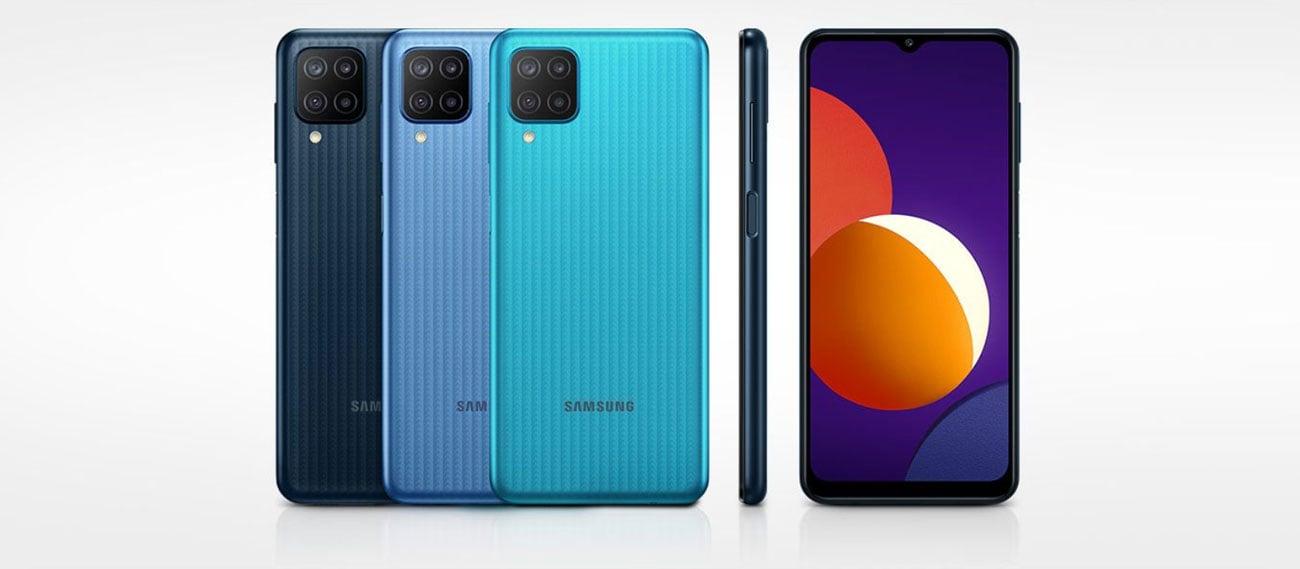 Smartfon Samsung Galaxy M12 64GB czarny