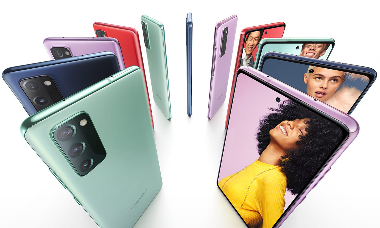 Smartfon Samsung Galaxy S20 FE Fan Edition Red