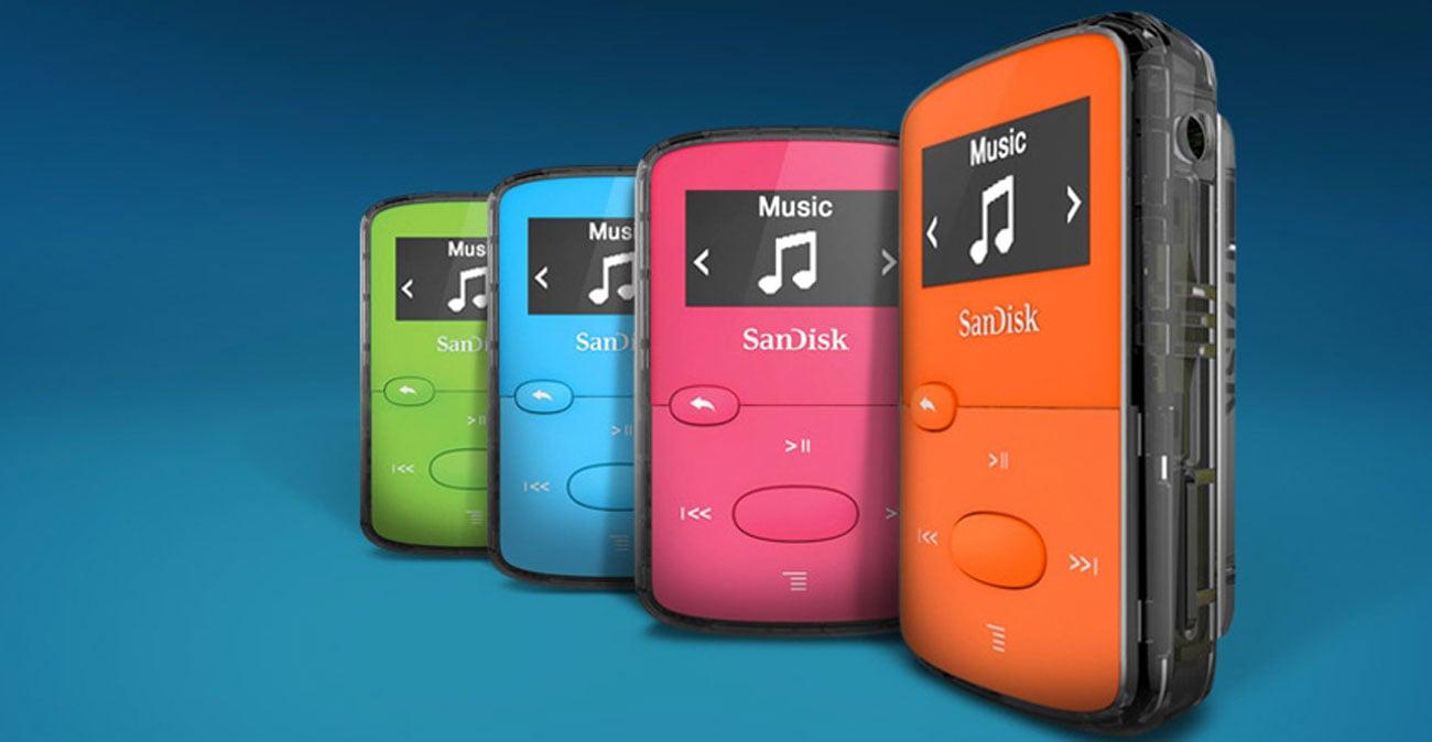 Odtwarzacz SanDisk Clip Jam 8GB czarny