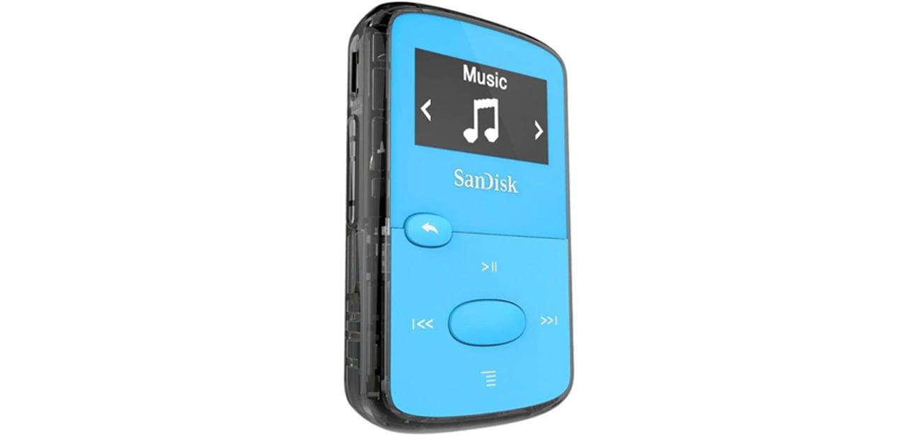 Odtwarzacz SanDisk Clip Jam 8GB niebieski