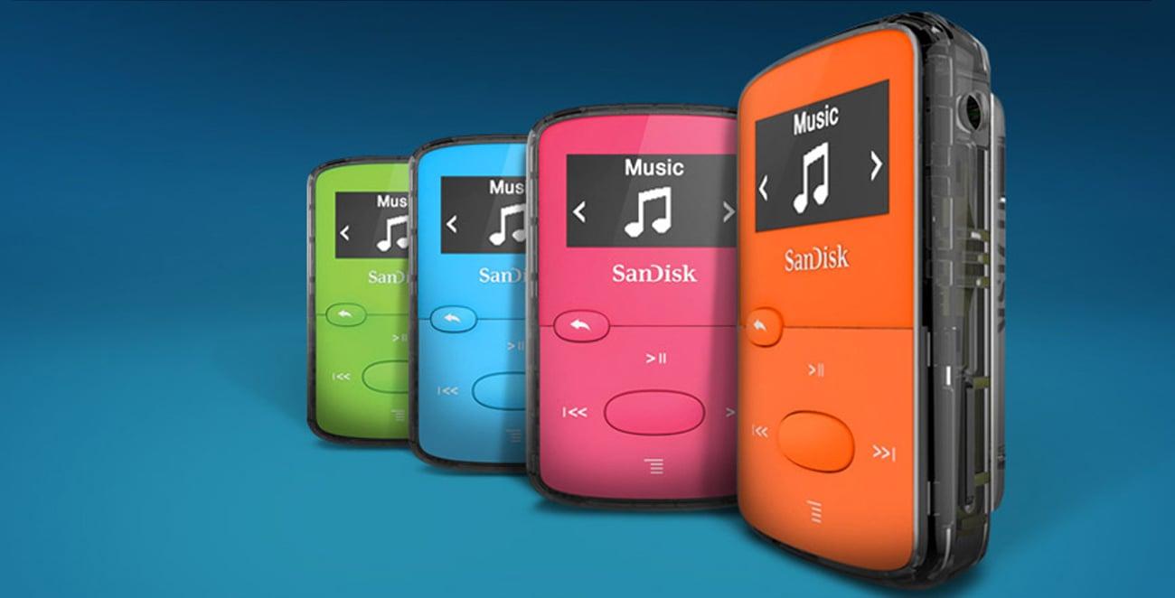 Odtwarzacz SanDisk Clip Jam 8GB niebieski wytrzymały akumulator