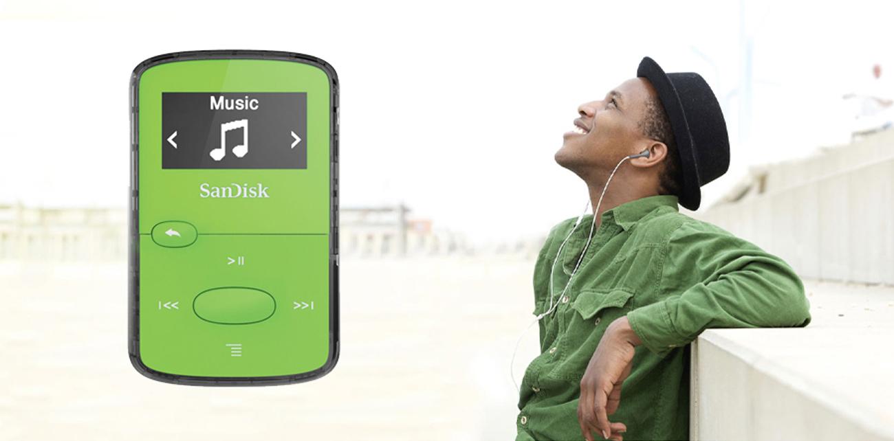 Odtwarzacz SanDisk Clip Jam 8GB zielony