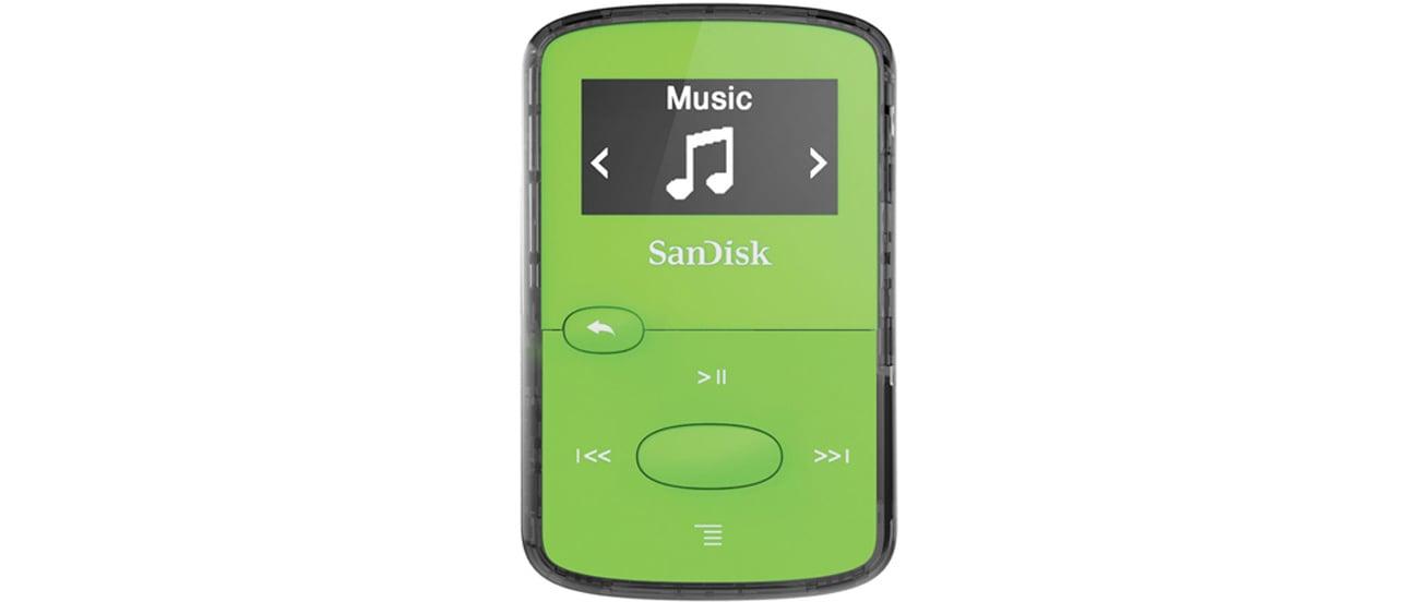 Odtwarzacz SanDisk Clip Jam 8GB łatwa obsluga