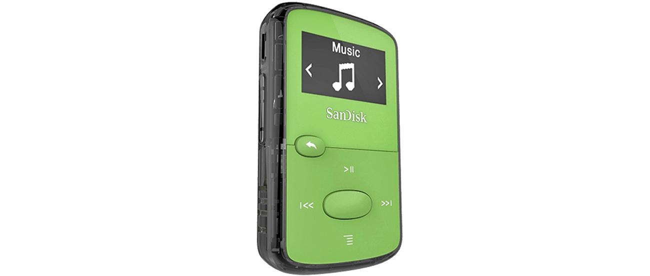 Odtwarzacz SanDisk Clip Jam 8GB zielony doskonałe brzmienie