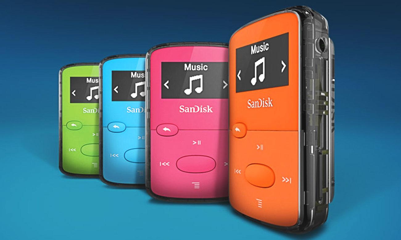 Odtwarzacz SanDisk Clip Jam 8GB czerwony