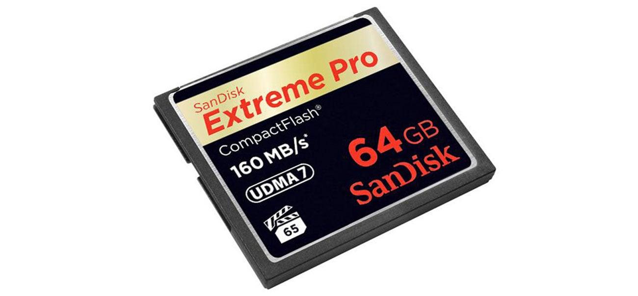 Extreme Pro 64GB wydajność