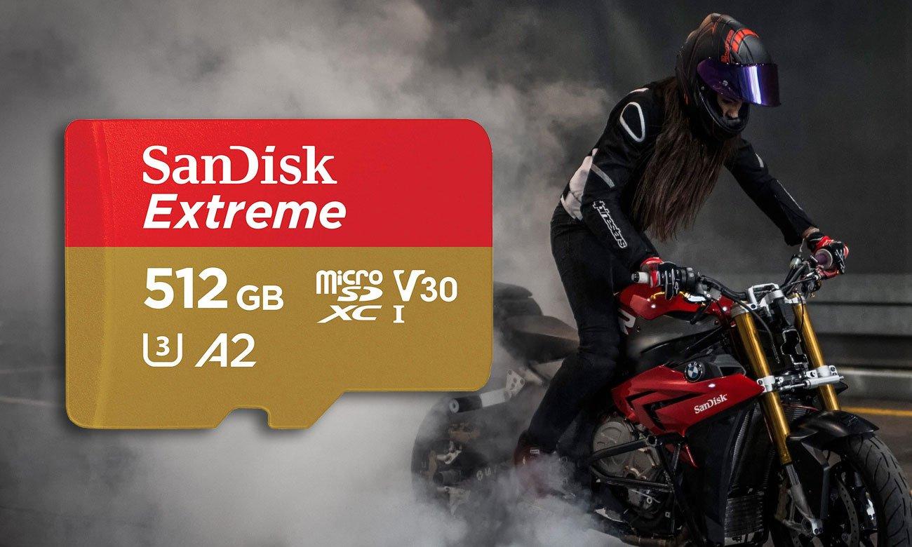 Sandisk Extreme 512GB - Prędkość