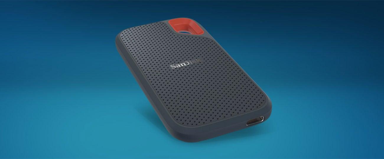 Dysk przenośny Sandisk Extreme Portable SSD Niewielka, kompaktowa konstrukcja