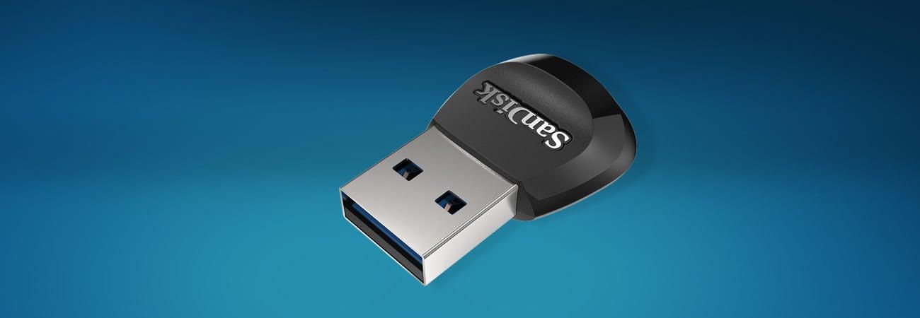 Sandisk MobileMate USB 3.0 Łatwe i szybkie przenoszenie plików z karty