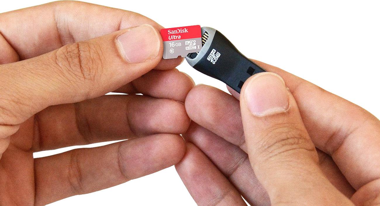 Czytnik kart microSD SanDisk MobileMate Kompaktowy rozmiar