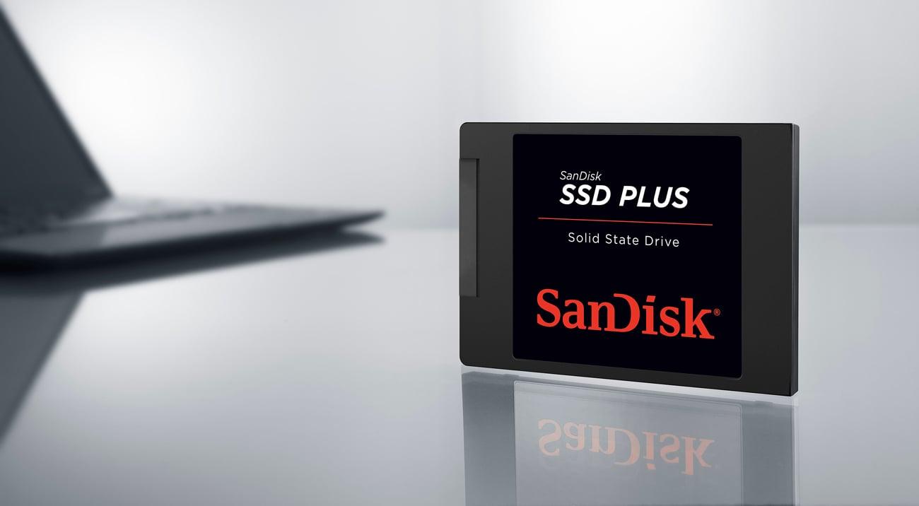 SanDisk SSD Plus Szybki i wydajny
