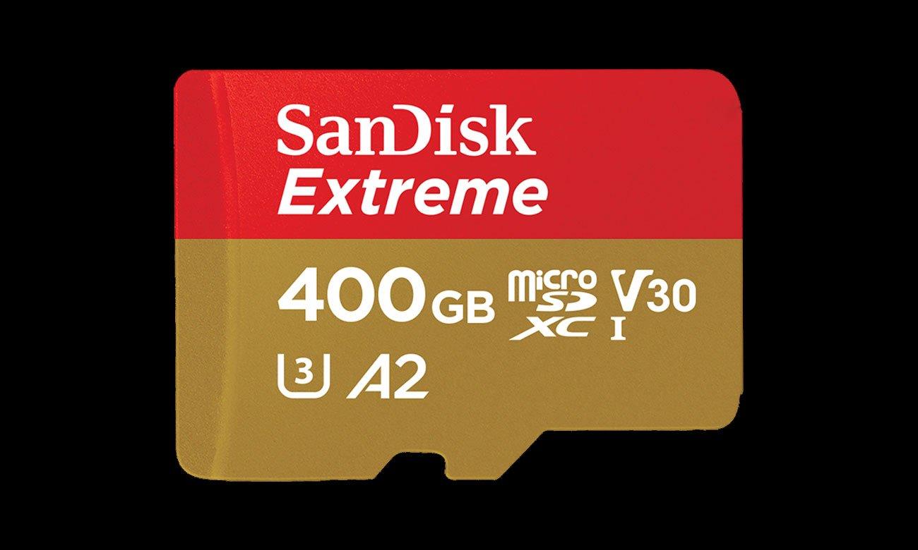 Sandisk Extreme microSDXC UHS-I Ekstremalne prędkości szybkiego transferu danych