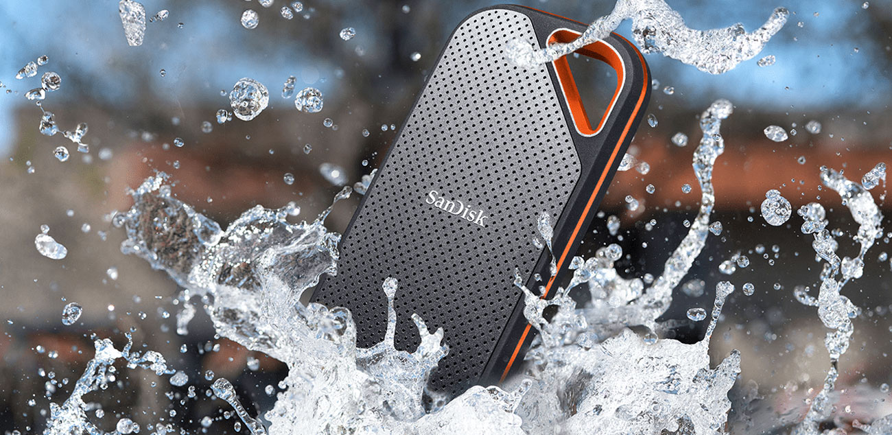 SanDisk Extreme Pro Portable SSD - IP55