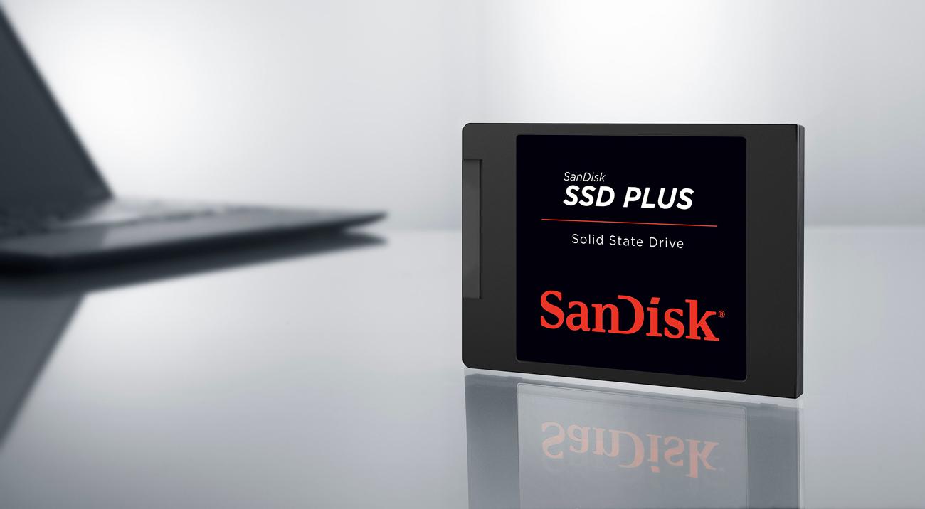 Sandisk SSD Plus - prędkość