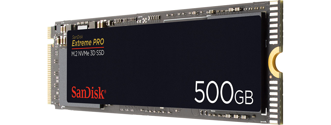 Dysk SSD SanDisk 500GB M.2 PCIe NVMe Extreme PRO